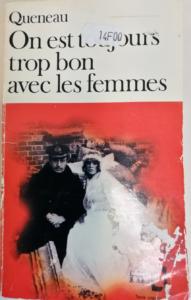 Couverture roman Queneau